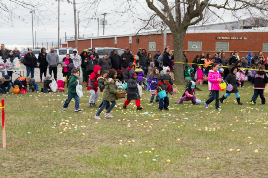 City of Hammond Annual Welcomes Families at 2016 Easter Egg Drop