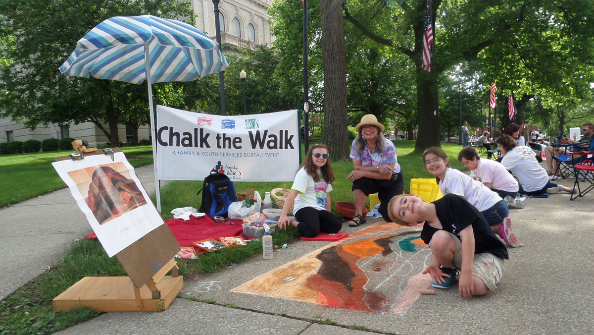 Taking Registrations for the 4th Annual Chalk the Walk on Saturday, June 11
