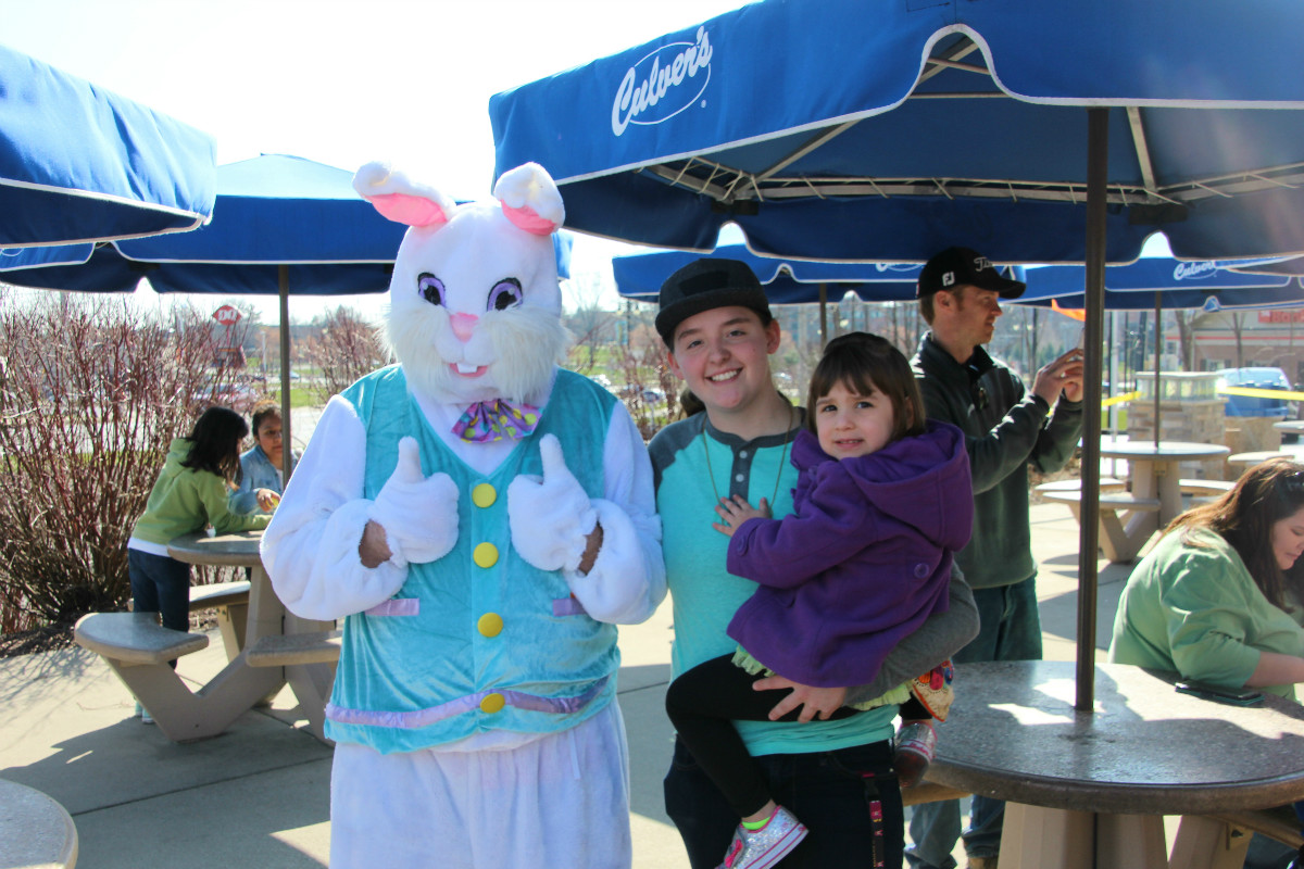Culver's Delights Kids, Families With Easter Celebration