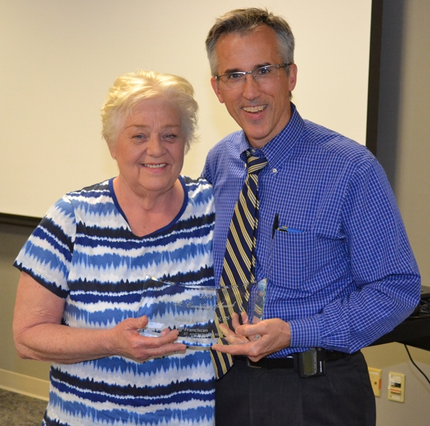 Physicians Honor Nurse for Outstanding Service