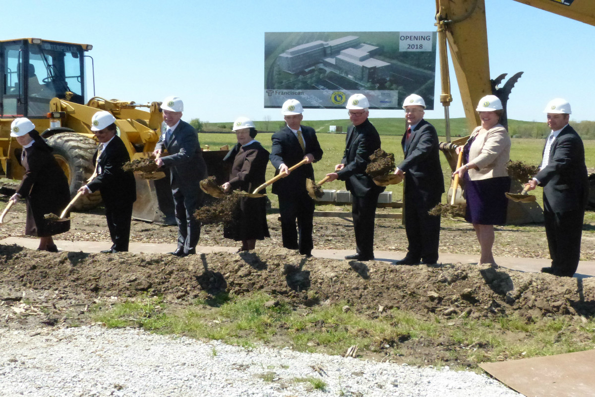 Franciscan Alliance St. Anthony Breaks Ground on New Michigan City Hospital