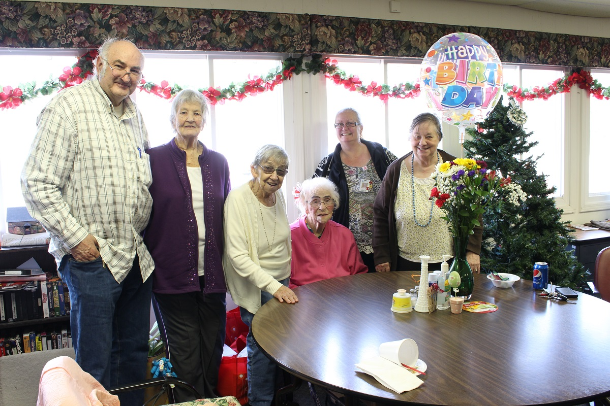 NorthShore Health Centers Helps Celebrate Centenarian's Birthday