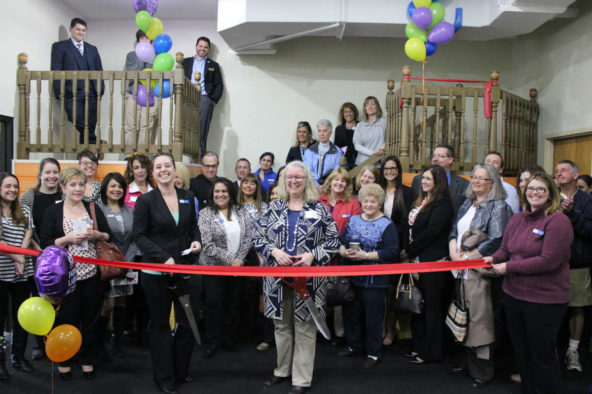 Jacob's Ladder Holds Ribbon Cutting to Celebrate New Location