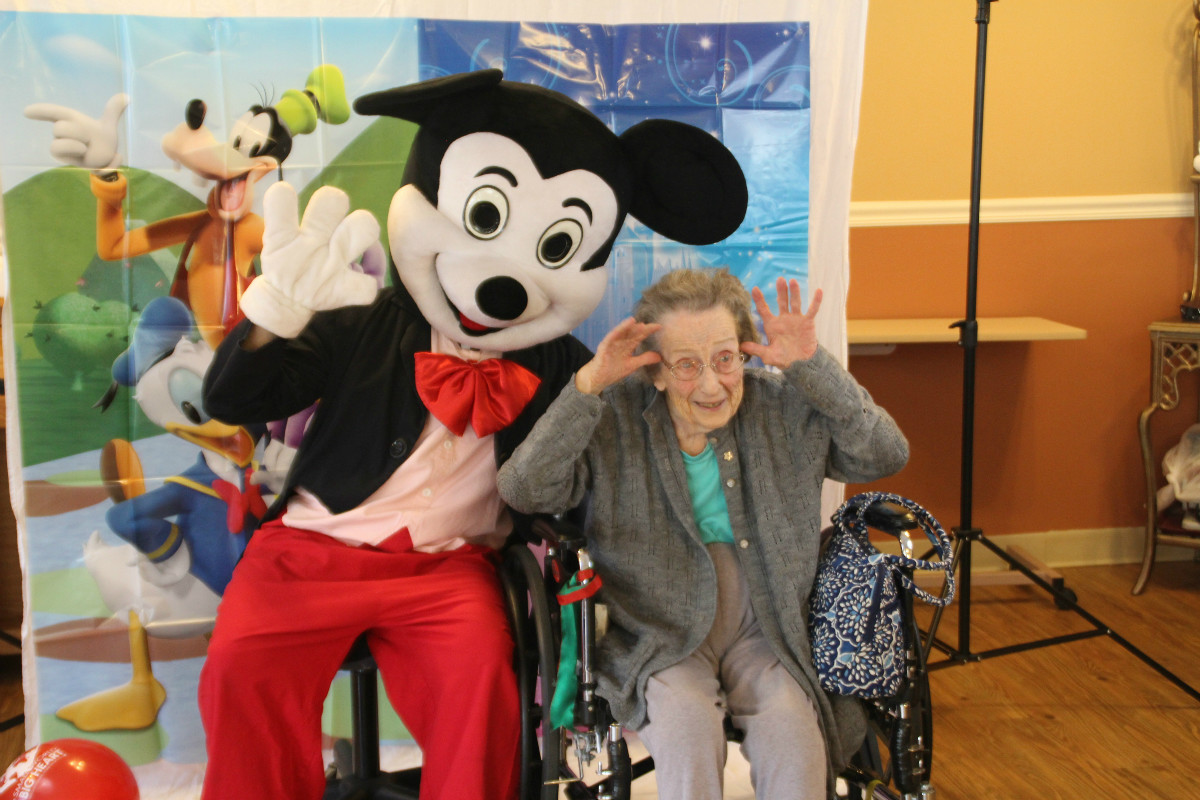 "Life Care Center of the Willows Celebrates Residents During Nursing Home Week with ""Disney Day"""