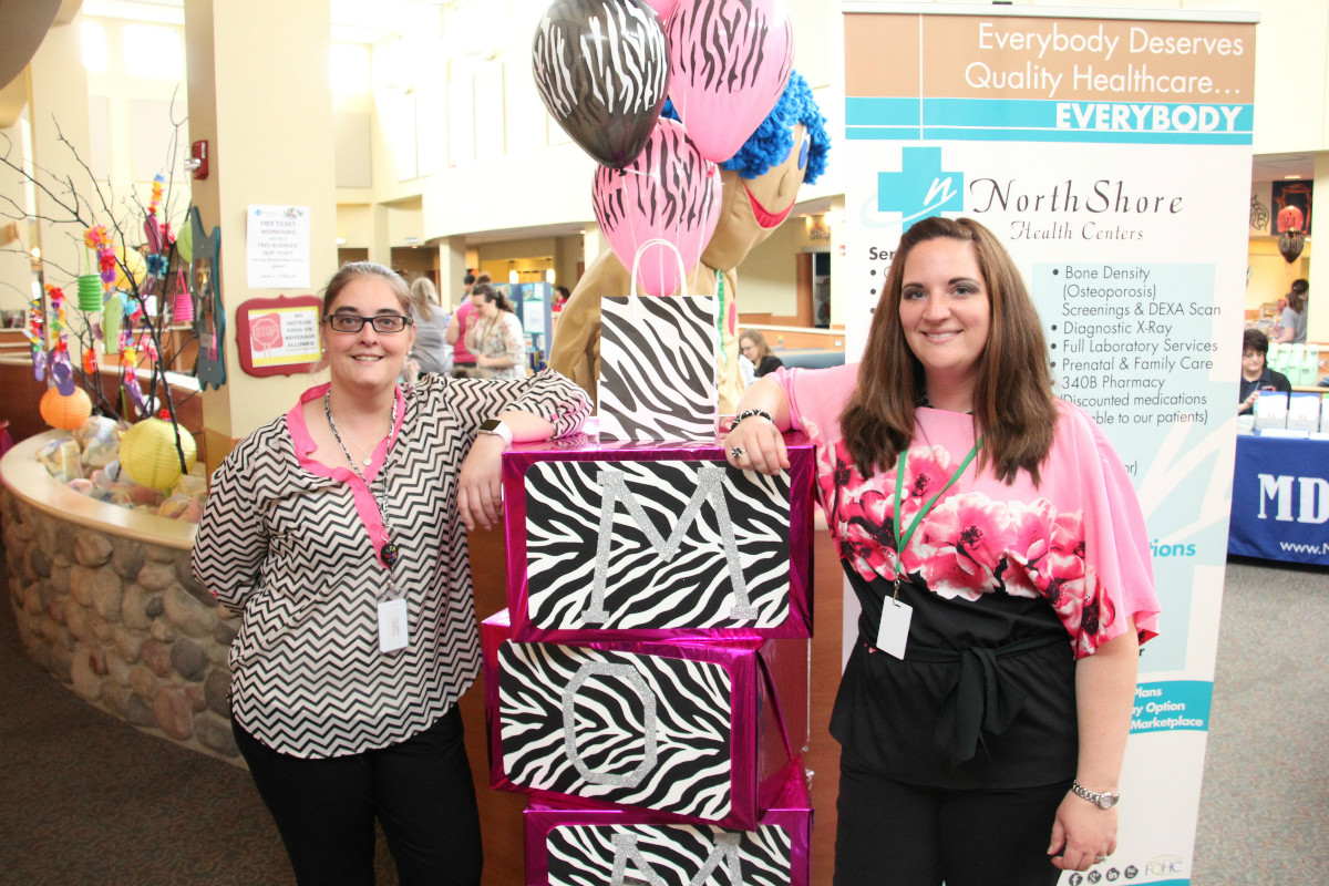 NorthShore Health Centers Treats Moms at 'We are Wild About Moms' Celebration