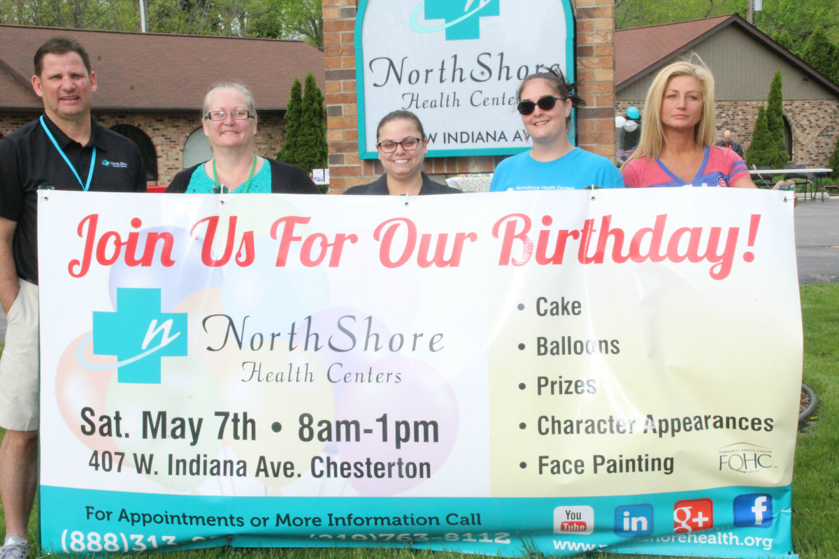 NorthShore Health Center of Chesterton Celebrates First Birthday with Day of Fun