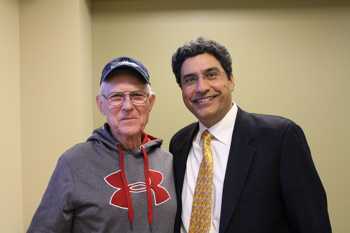 Porter Regional Hospital Hosted Eye-Opening PAD Event with Dr. Sandeep Sehgal