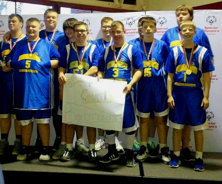Teamwork, Friendships, Help Porter County Special Olympics Basketball Win 2nd State Championship