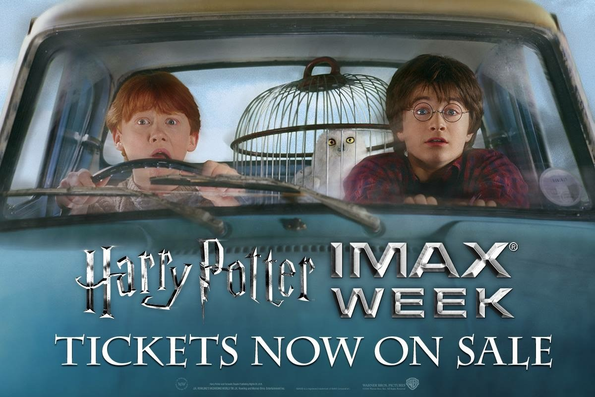 Harry Potter Week at the Portage 16 IMAX Begins October 13, 2016