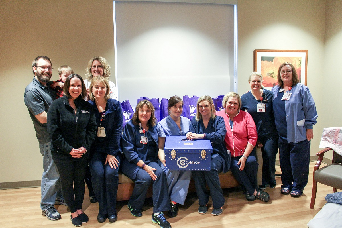 """Porter Regional Hospital is First in the Region to Receive """"CuddleCot™"""" to Help Bereaved Parents"""