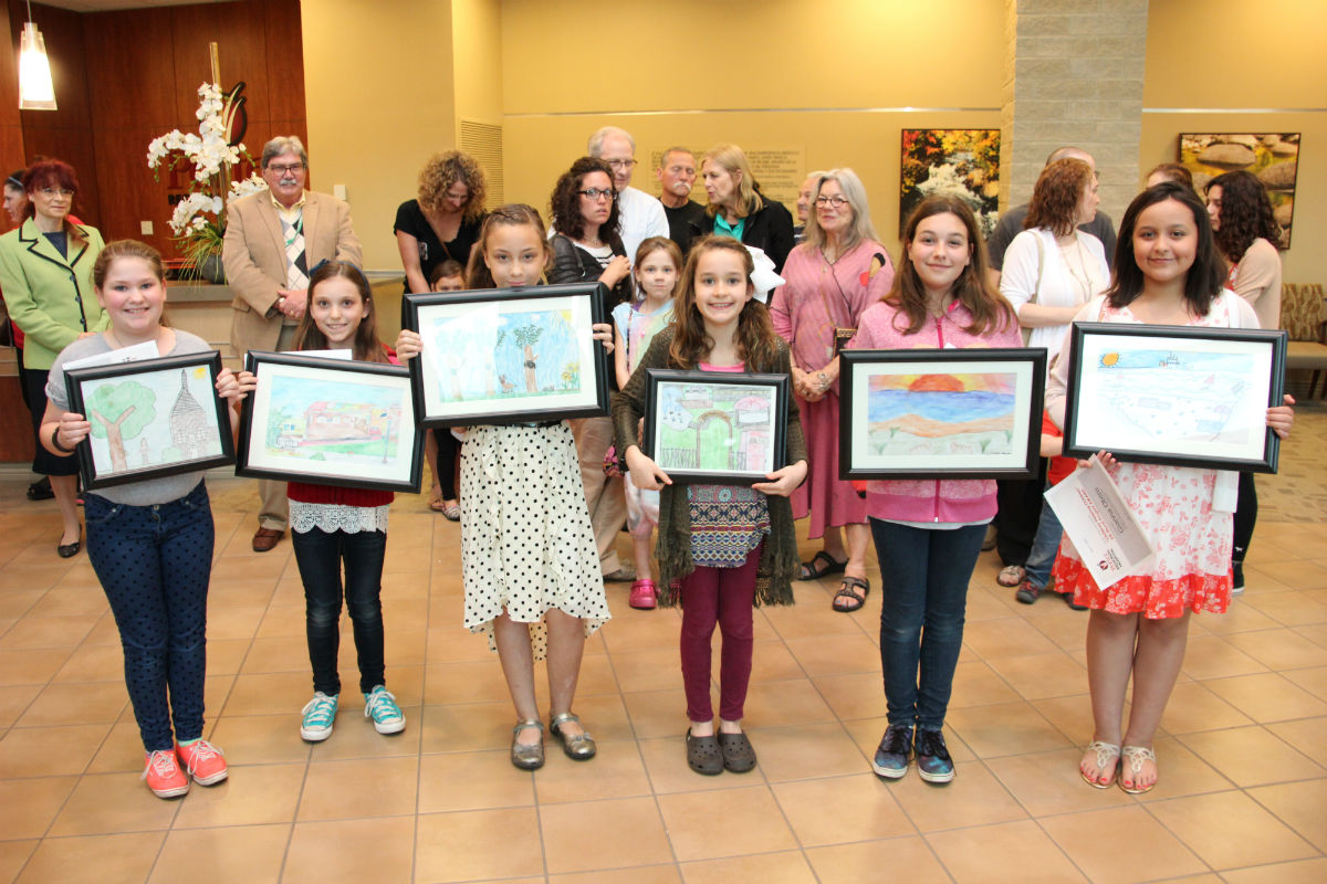 Young Students' Art Chosen to Create Child-Friendly Murals at Porter Regional Hospital's ERs