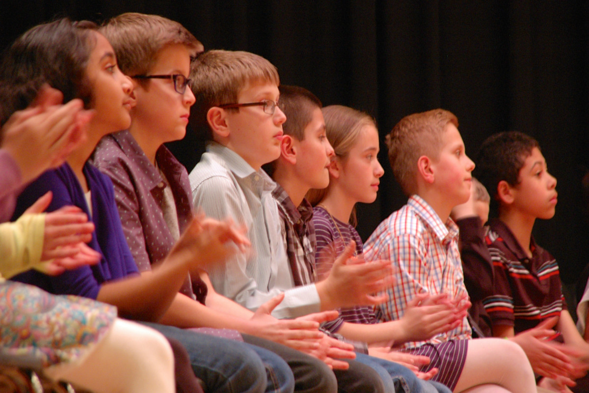 Fourth and Fifth Graders from Around Porter County Compete in 27th Annual Porter County Spelling Bee
