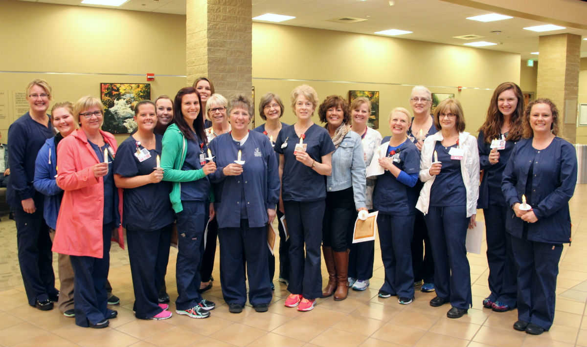 Porter Health Care System Honors Nurses with Candlelight Vigil During National Nurses Week