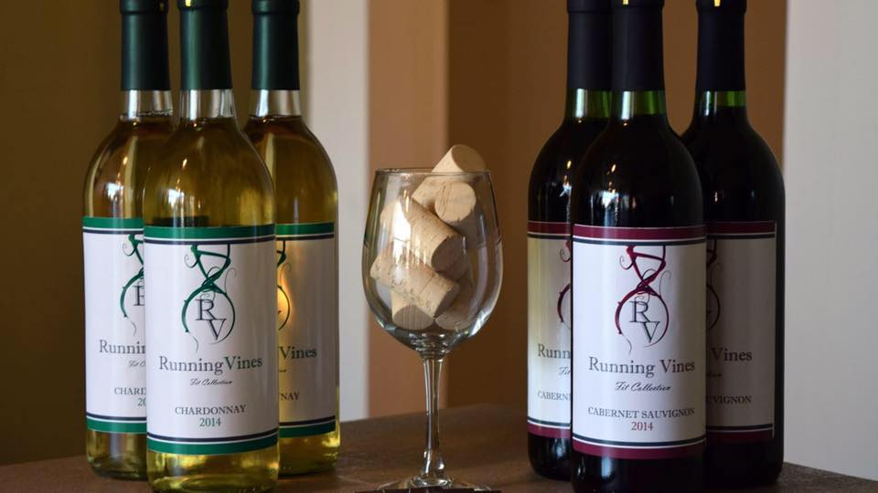 Running Vines Winery Offers Wine Fueled Events!