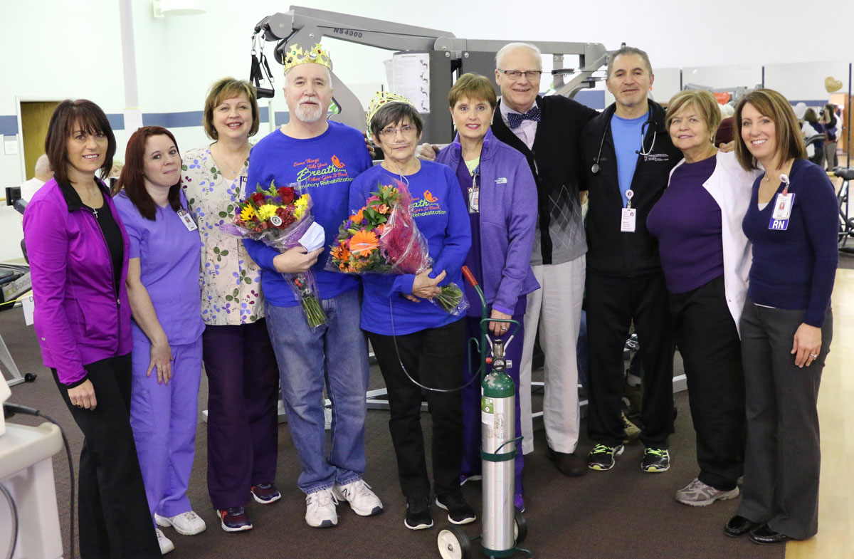 St. Mary Medical Center Crowns Pulmonary King, Queen