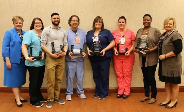 St. Mary Medical Center Recognizes Top Performing Nurses During National Nurses Week