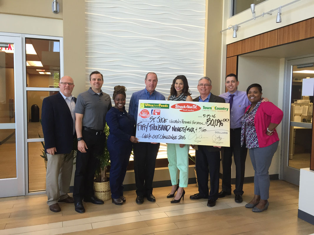 Strack & Van Til Announces Final Results of 2016 Campaign to Benefit St. Jude Children's Research Hospital