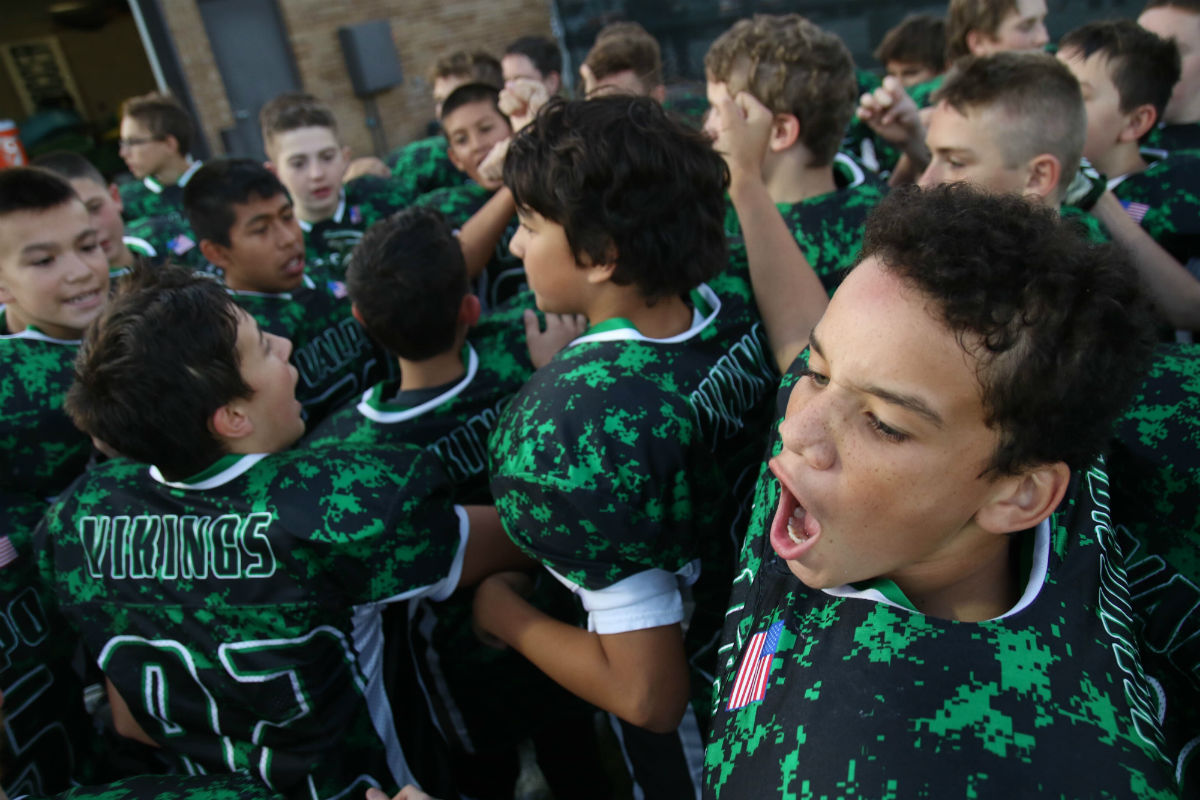 Thomas Jefferson Middle School Presents Tailgating, School Spirit, and Fall Football