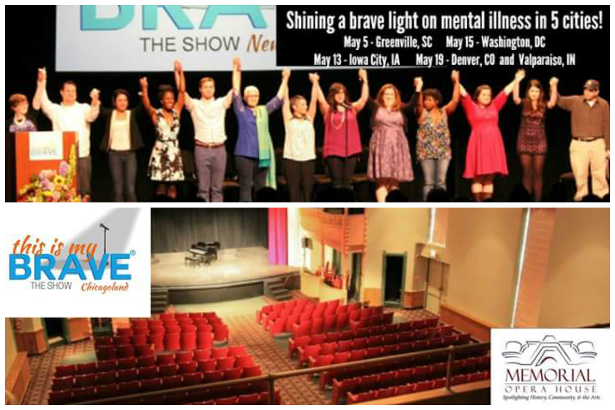 """NIETF Presents """"This is My Brave Chicagoland"""" Mental Health Awareness Storytelling Event"""