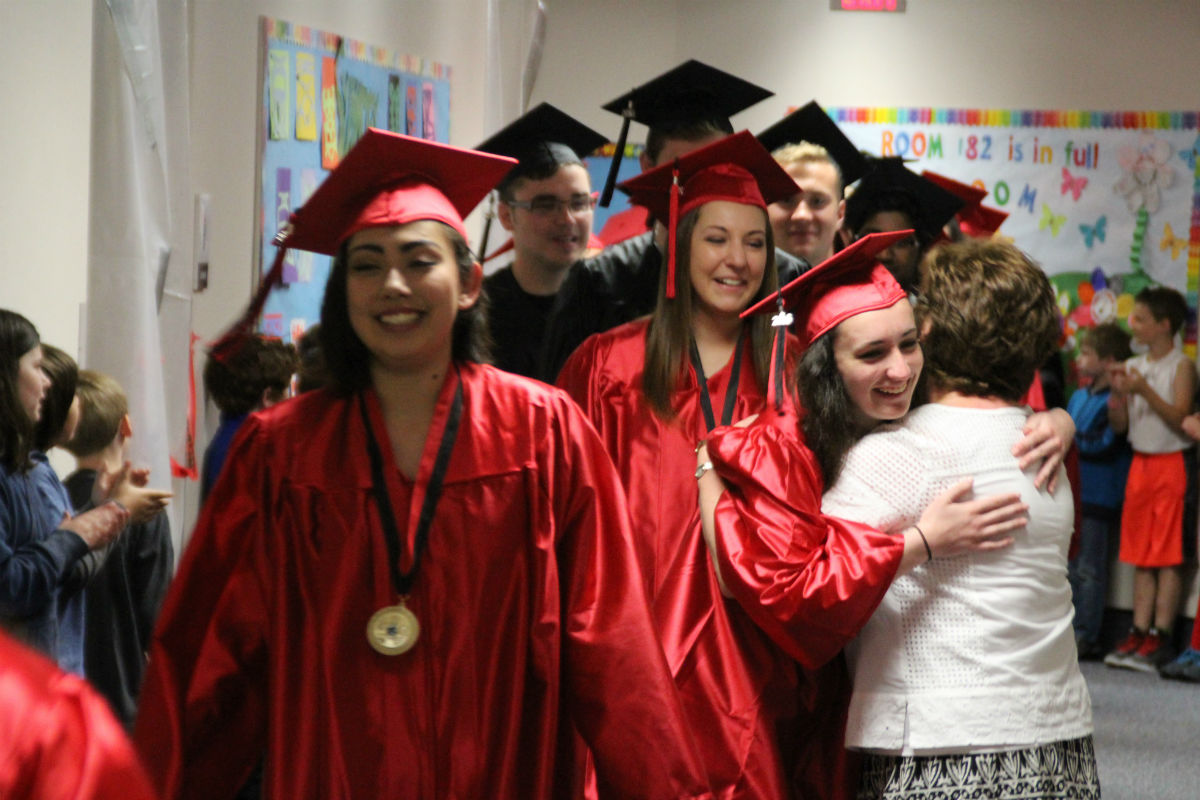 Washington Township Seniors' Final Footsteps Sets Path for Elementary