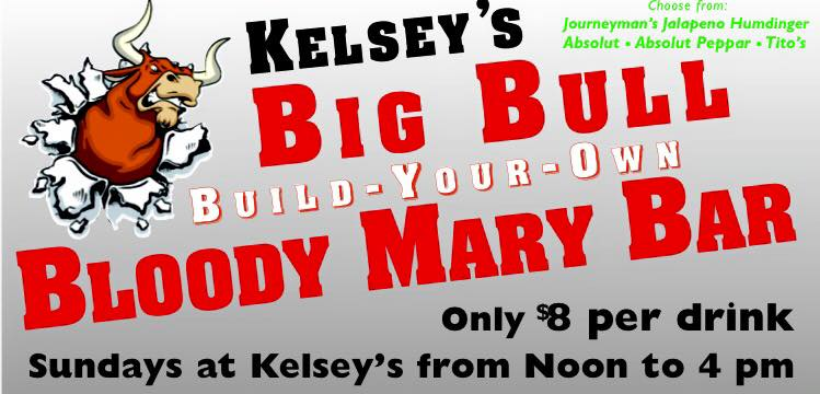 Build Your Own Bloody Mary Bar is Waiting for You at Kelsey's