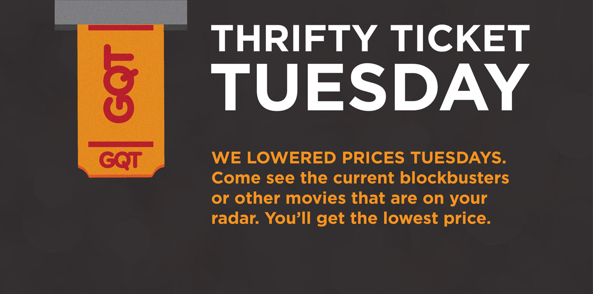 """Goodrich Quality Theatres Introducing """"Thrifty Ticket Tuesdays"""" at Portage IMAX 16"""