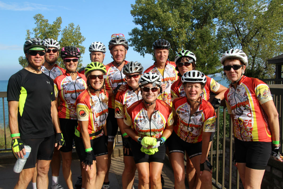Lorie's Lakeside Century Showcases Northwest Indiana While Raising Funds for the Visiting Nurse Association