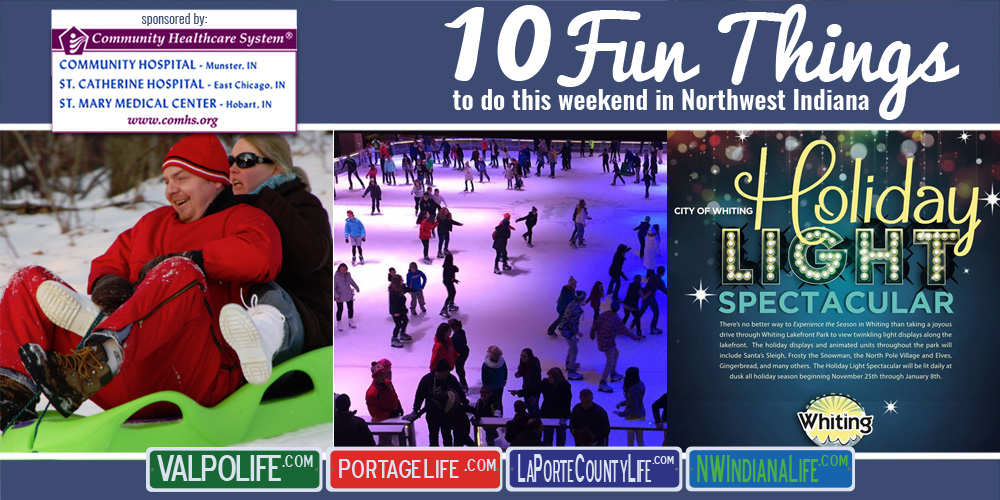 10 Fun Things to Do this Weekend in Northwest Indiana: December 23-25, 2016