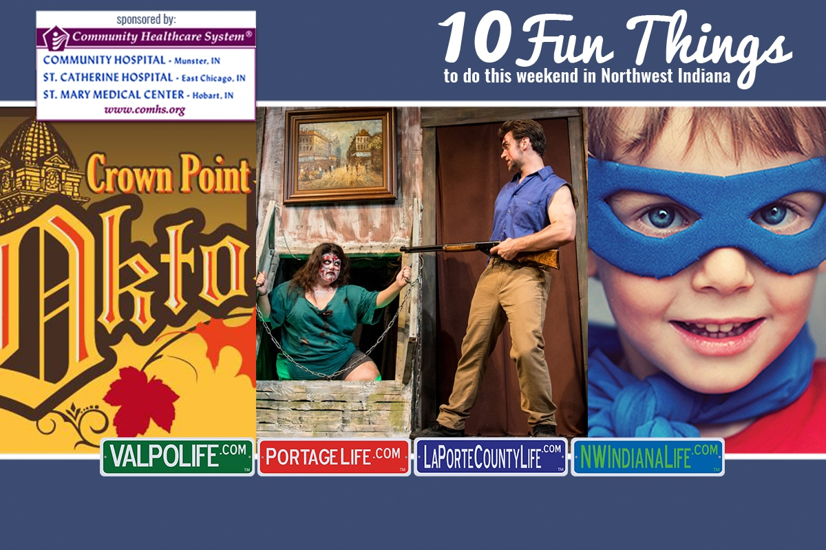 10 Fun Things to Do in NWI October 5 – October 7, 2018