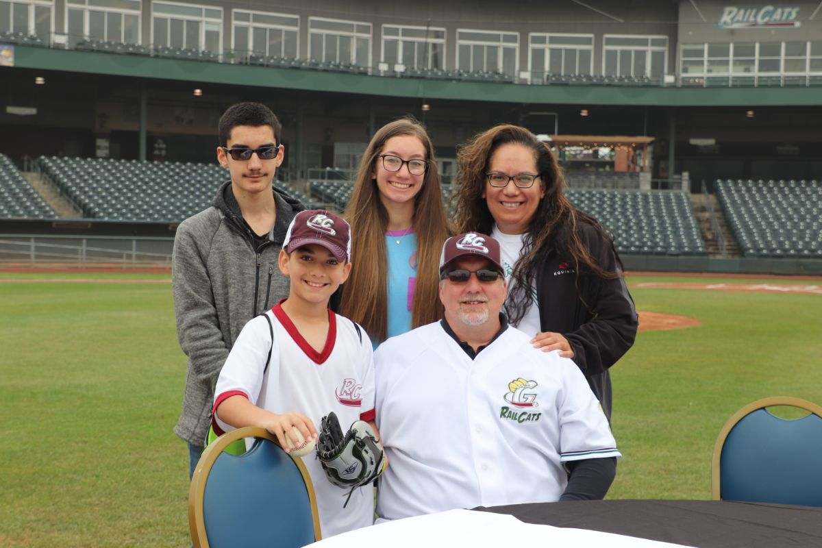 Gary SouthShore RailCats Special Father's Day Brunch on Field