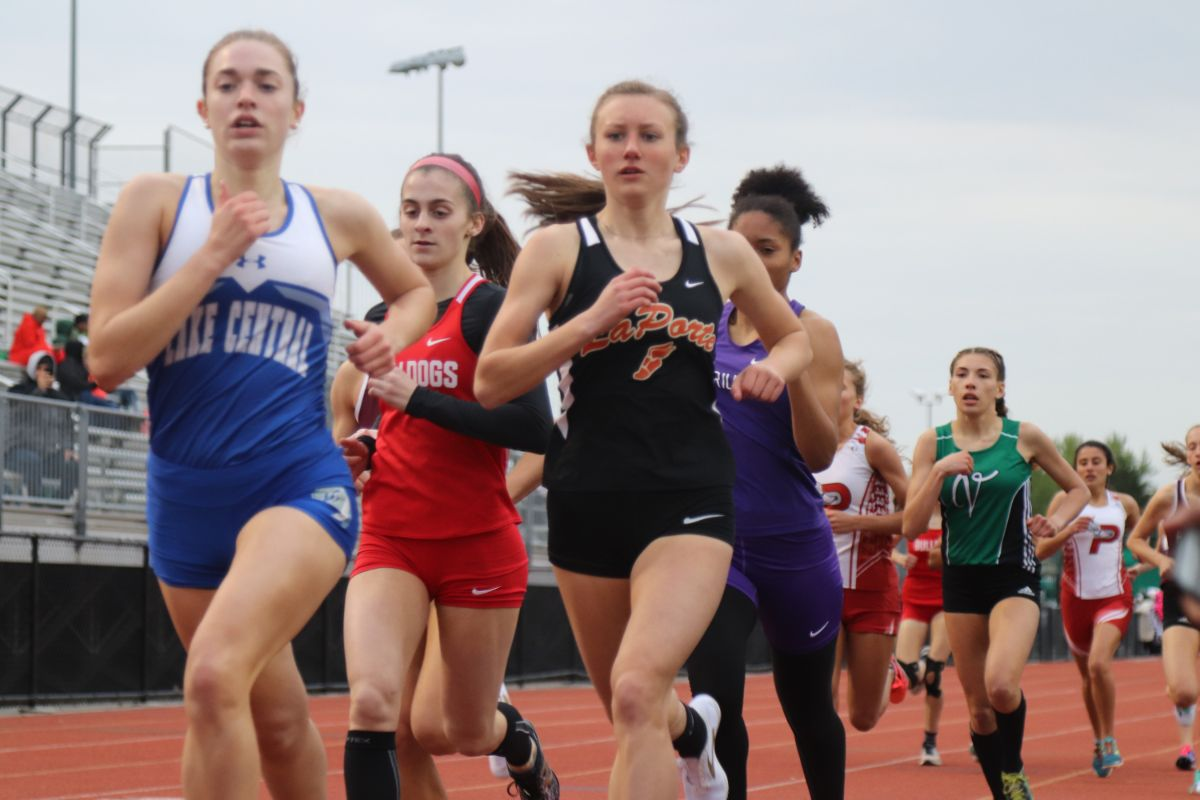 Athletes give it their all at the DAC Girl's Track & Field Invitational