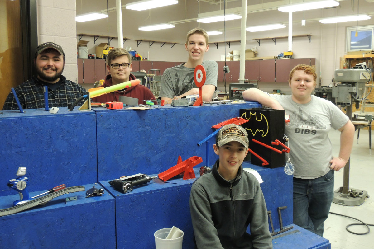 #1StudentNWI: It's Snow Joke – Kouts Students are Staying Busy this Winter