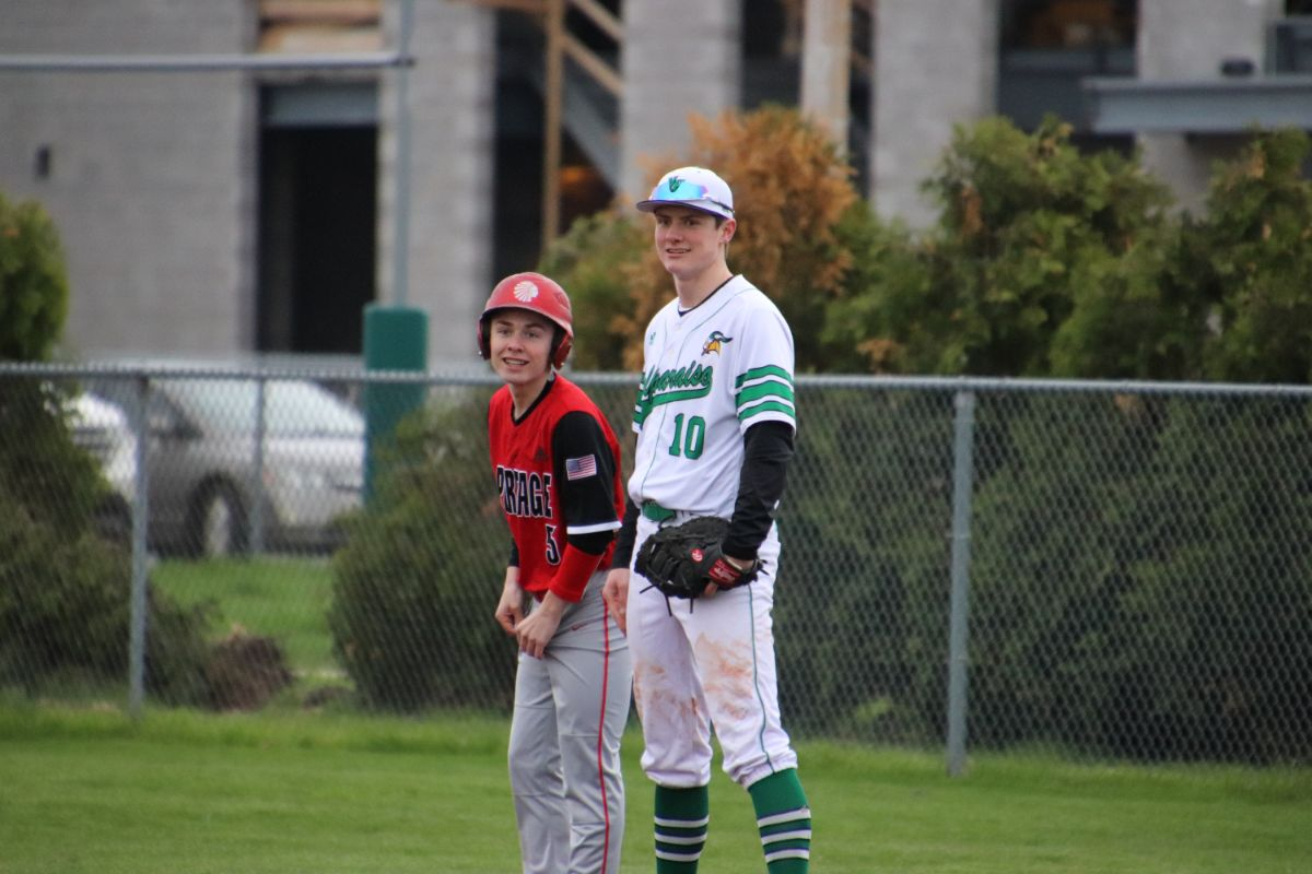 Portage Indians and Valparaiso Vikings baseball duel it out