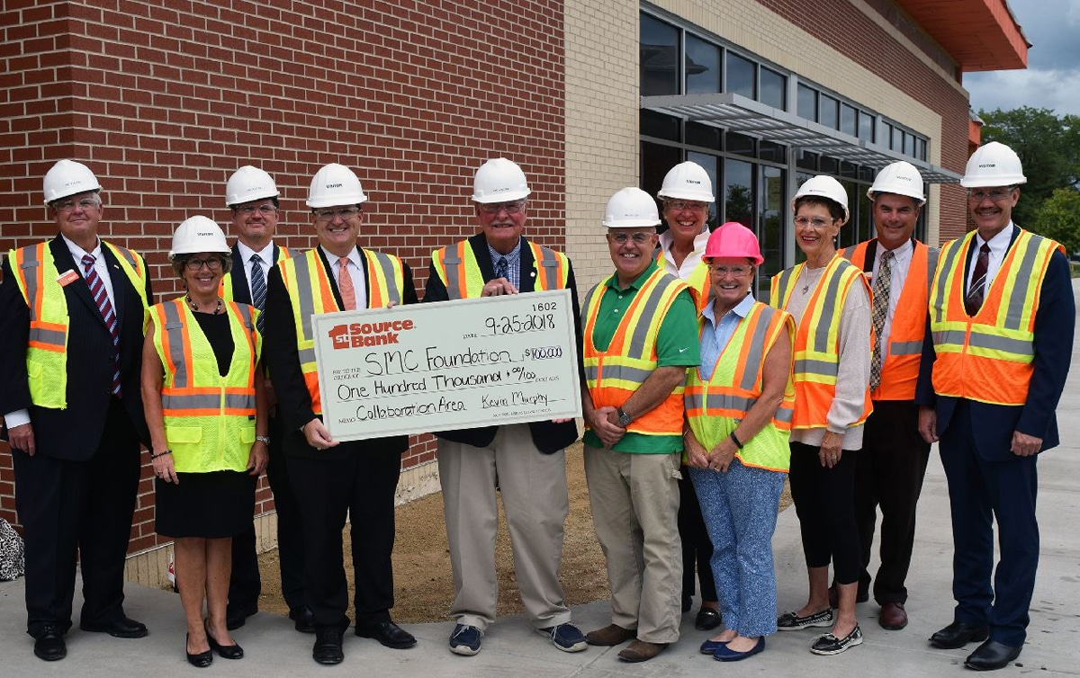 1st Source Bank Donates $100,000 to Southwestern Michigan College