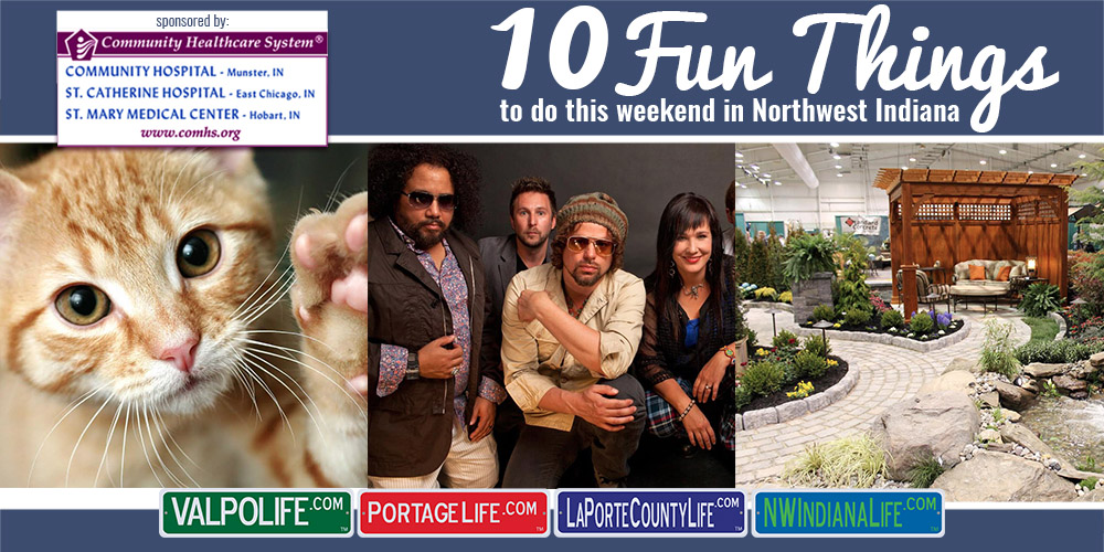 10 Fun Things to Do this Weekend in Northwest Indiana: March 24 – 26, 2017