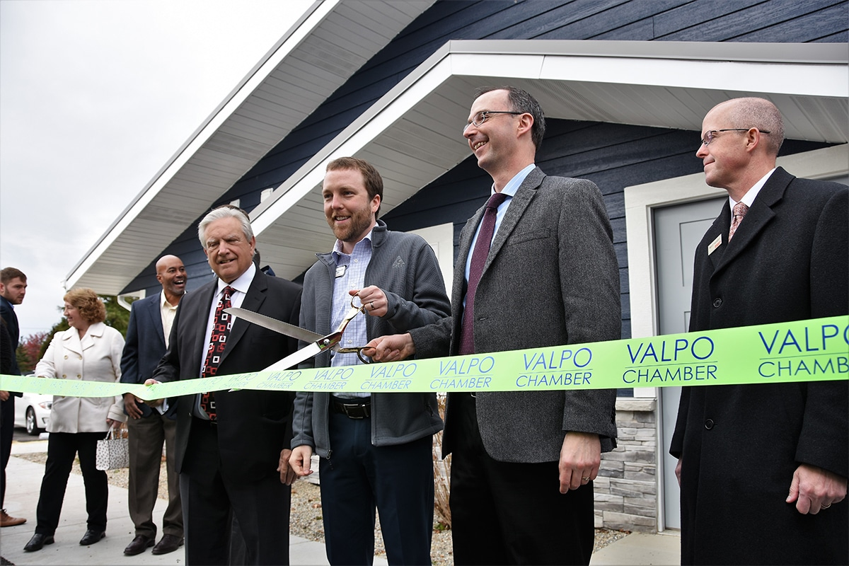 """Porter-Starke Services of Valparaiso Says """"Welcome Home"""" to Residents with Opening Celebration for New Aurora View Apartments and Townhomes"""