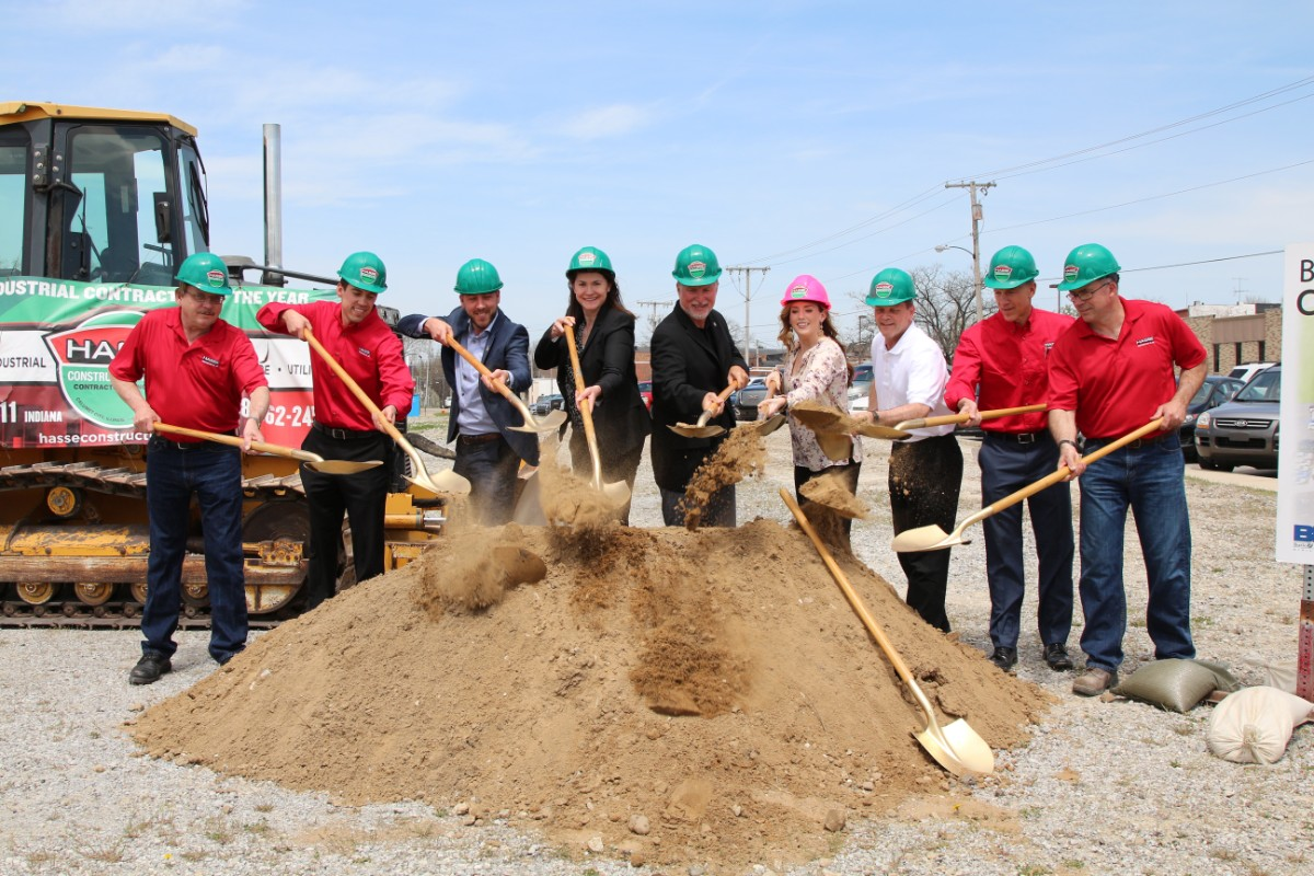City of Crown Point Breaks Ground on Bulldog Park, Promises Ice Skating by Year's End
