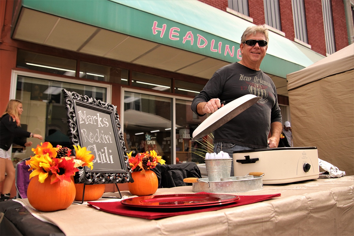 Winamac Makes History in First Annual Market Street Chili Festival