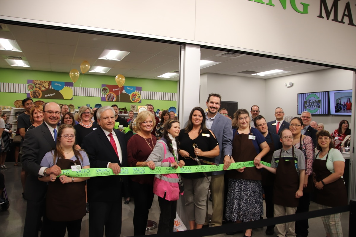 Opportunity Enterprises, Meijer, and Chester Inc. Host Ribbon Cutting for New Simply Amazing Market