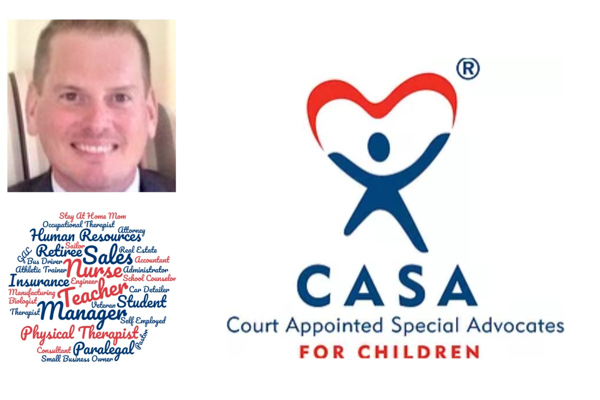 Meet Mike Fish, Volunteer for Porter County CASA Child Advocates