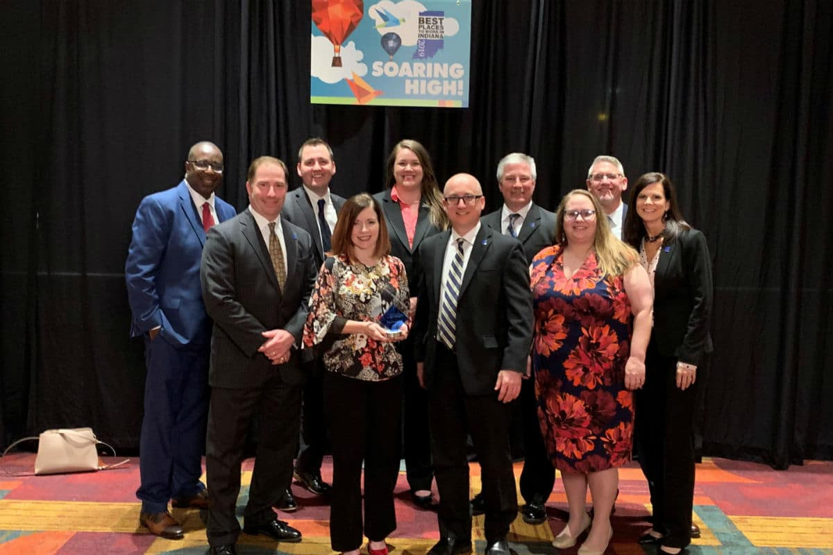 """Centier Bank Named #5 """"Best Place to Work"""" by Indiana Chamber of Commerce"""