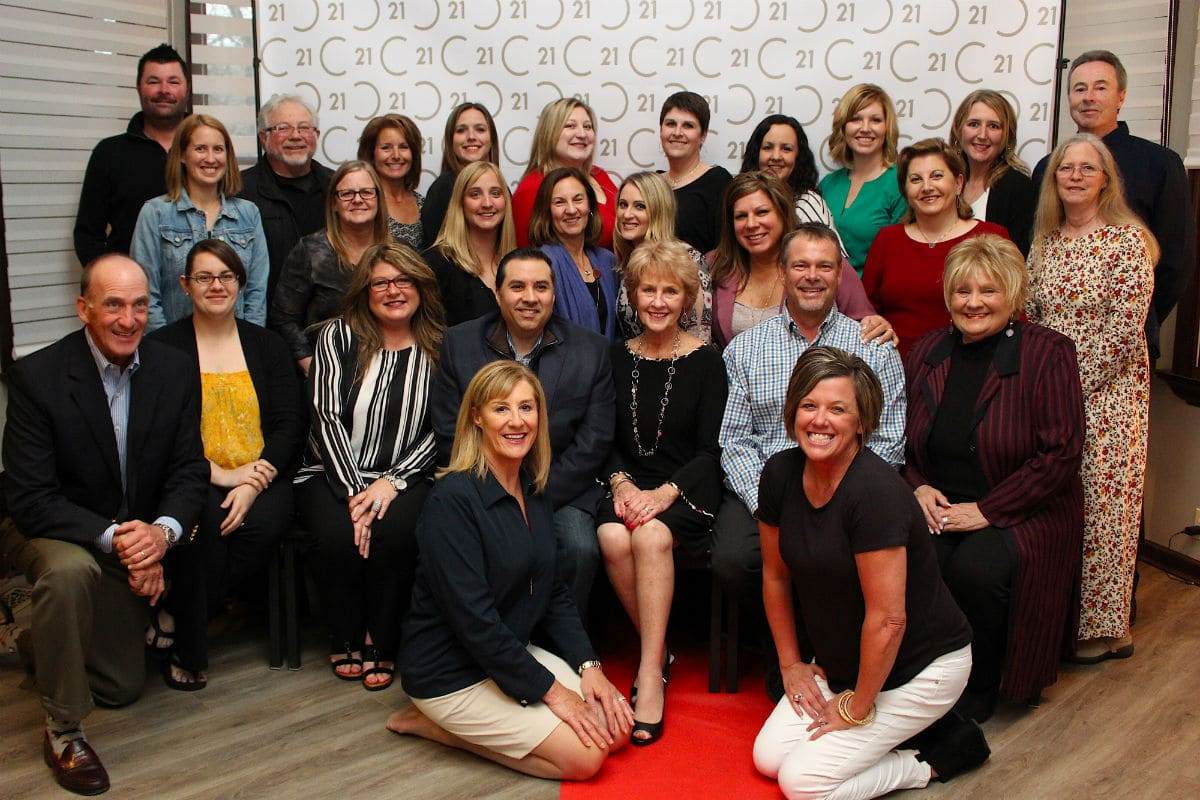 Century 21 Alliance Group awards high-achieving team members