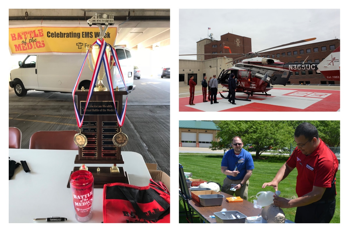 Hammond Fire Department captures Battle of the Medics title