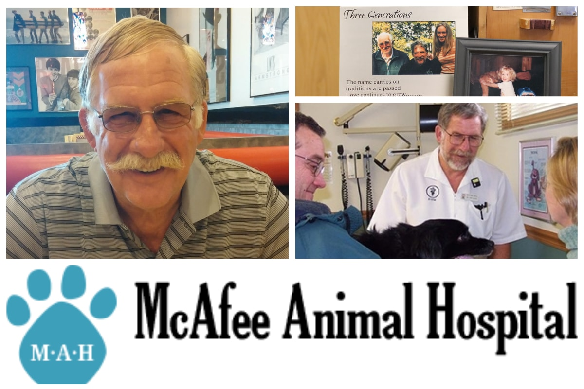 A McAfee Animal Hospital Employee Spotlight: Dr. Larry McAfee