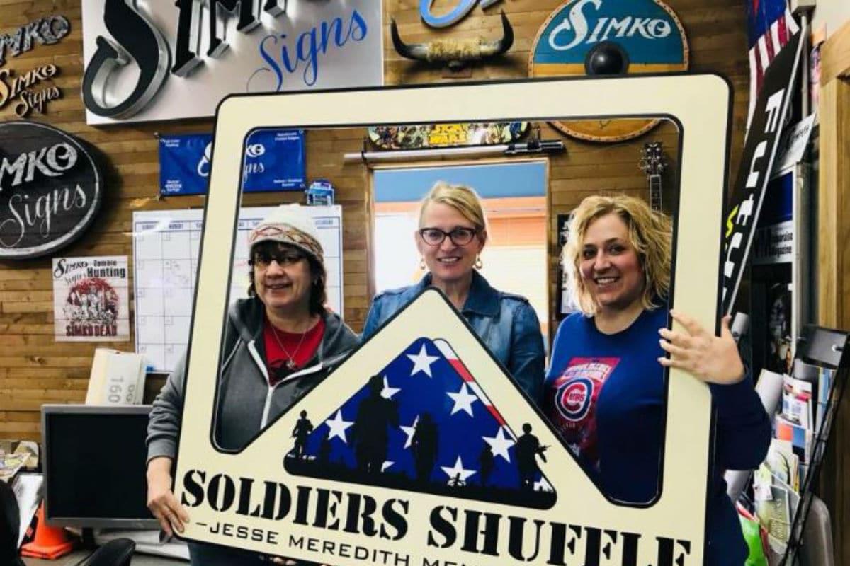 Running to support veterans