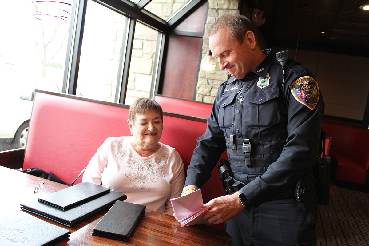 Kelsey's Steakhouse invites patrons to 'Tip a Cop' and bolster students