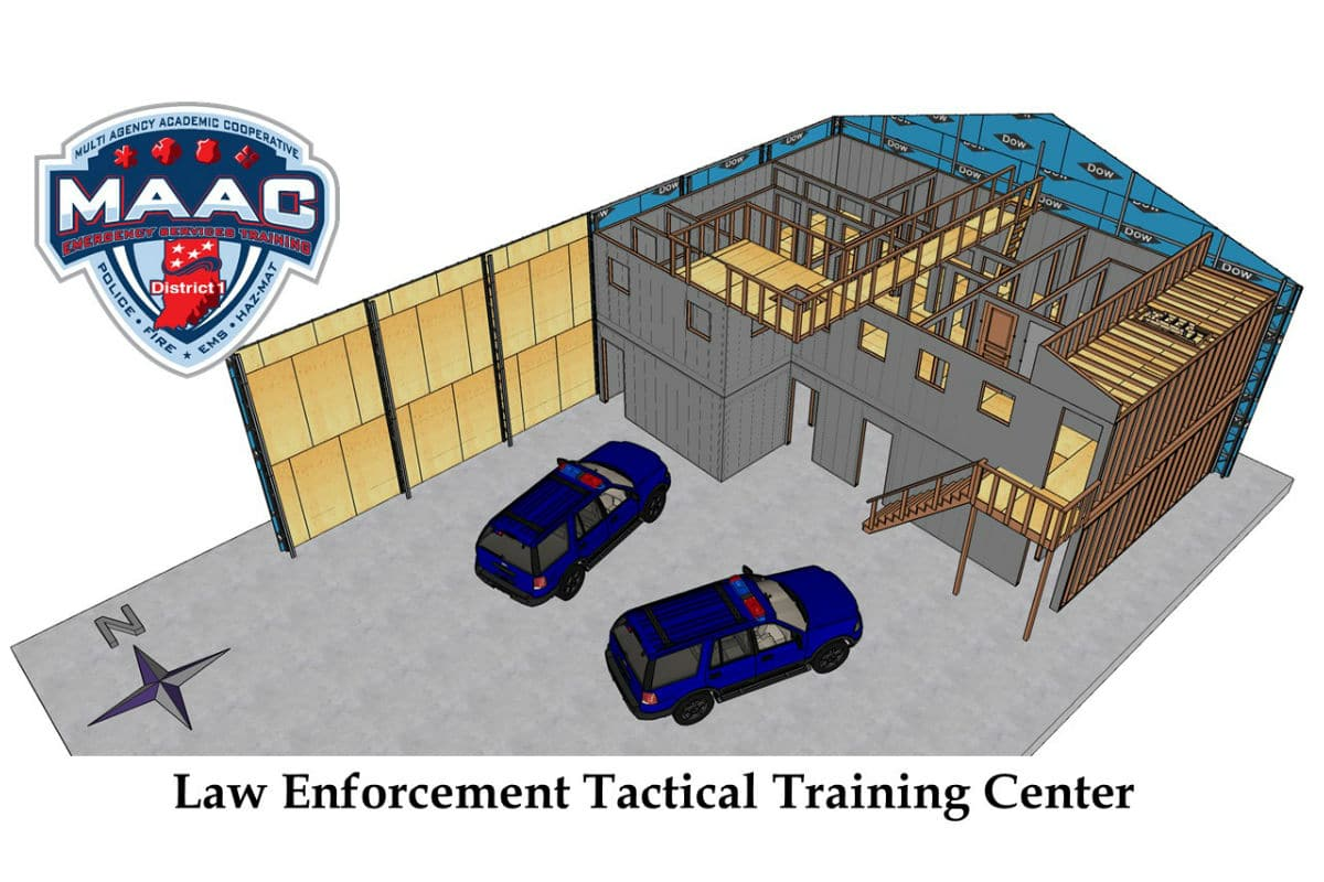 Law Enforcement Personnel Break Ground on State-of-the-Art Training Structure