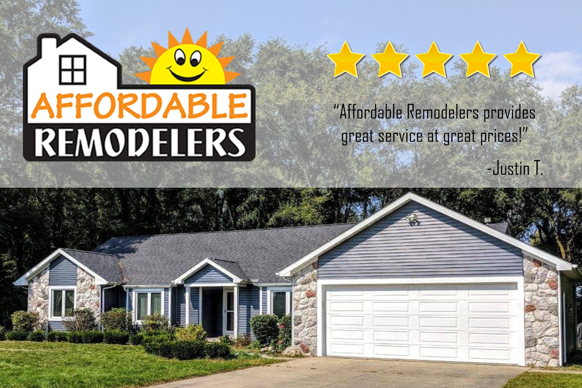 Customers weigh in on the work by Affordable Remodelers