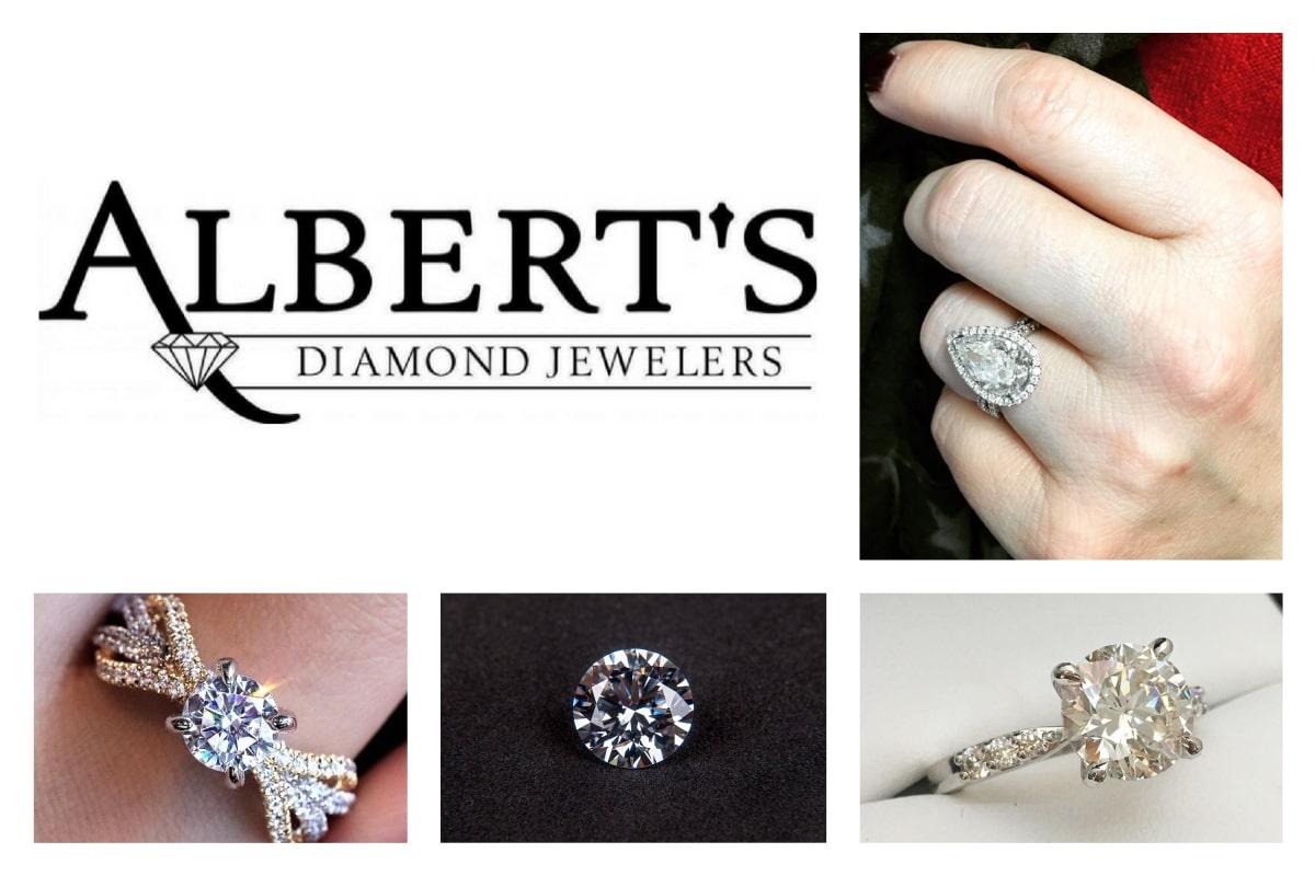Albert's Diamond Jewelers: on the cutting edge of diamonds