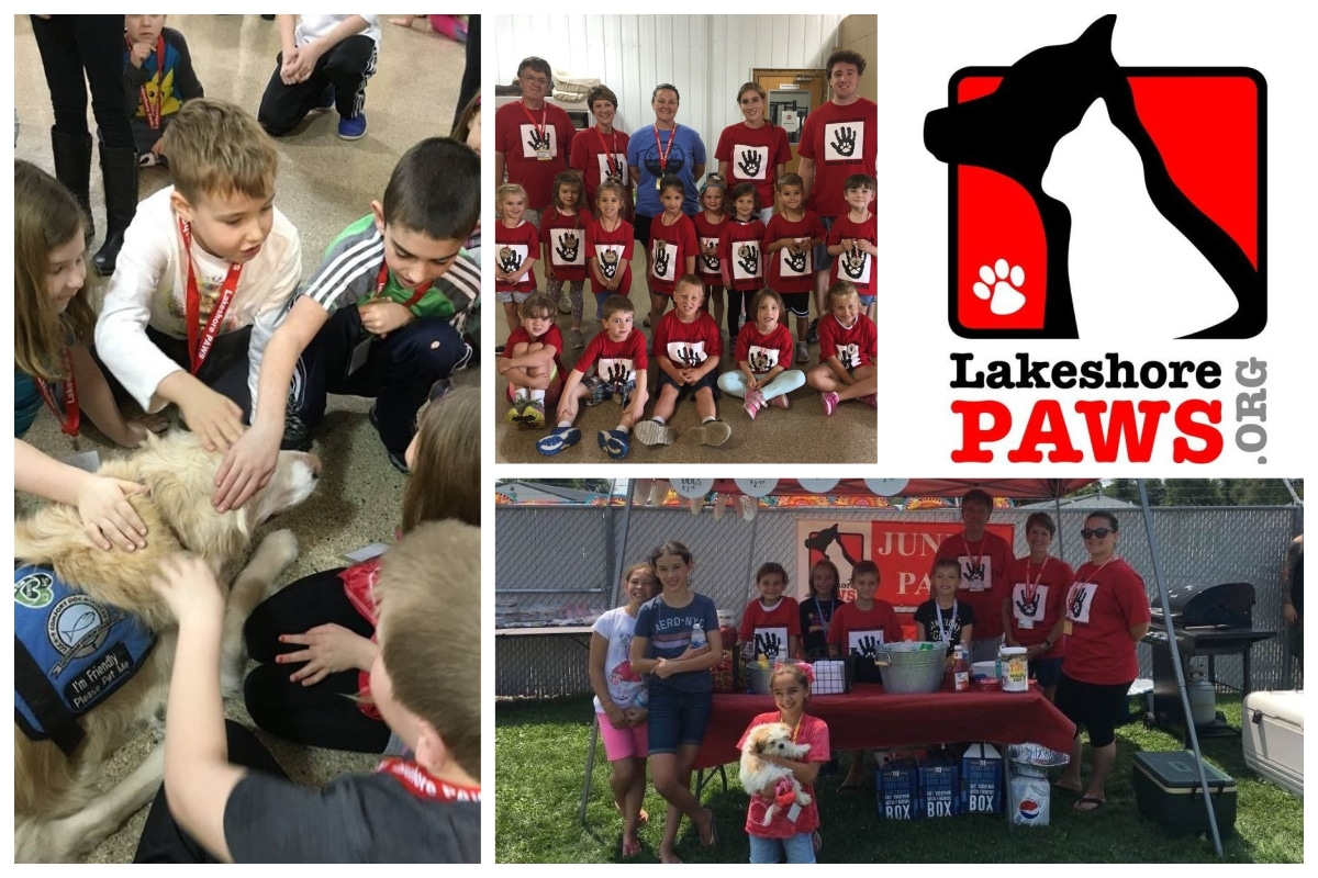 Lakeshore PAWS trains young volunteers animal safety